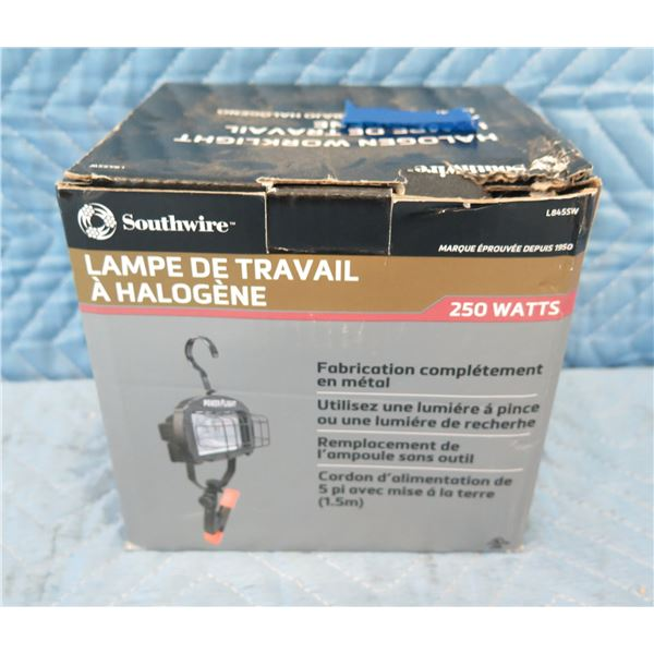 Southwire L845 Halogen Clamp Light 250 Watts New in Box