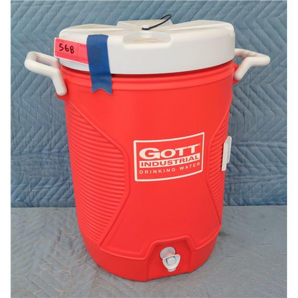 Rubbermaid 1787621 Gott Industrial 5 Gallon Cooler