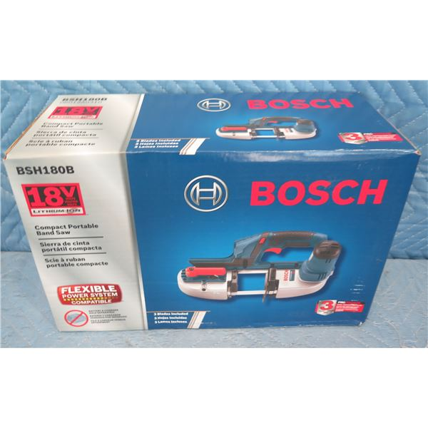 Bosch BSH180B Compact Portable Band Saw 18V New in Box