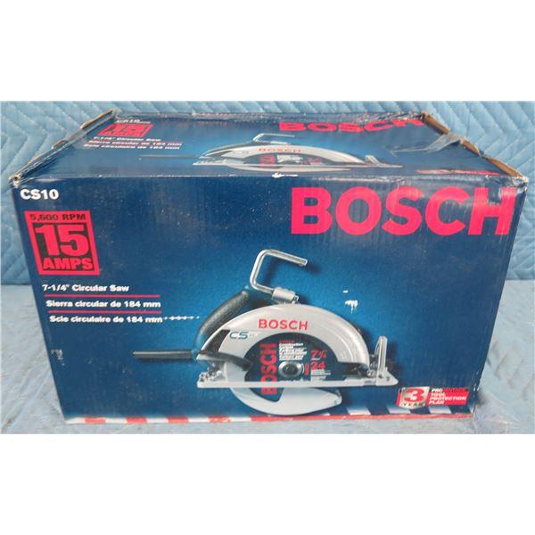 """Bosch CS10 7-1/4"""" Circular Saw New in Box"""
