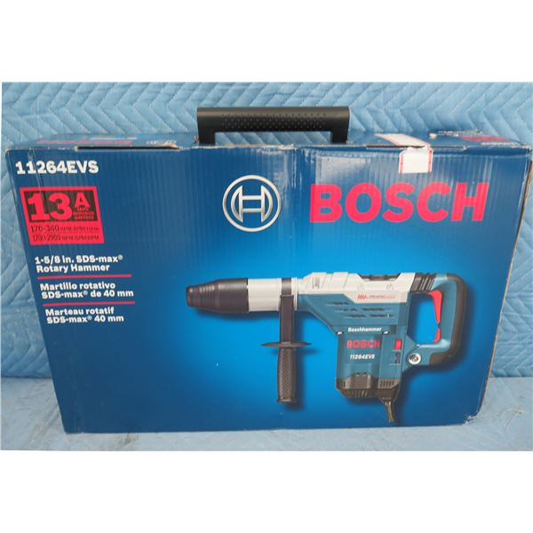 """Bosch 11264EVS 1-5/8"""" SDS-Max Rotary Hammer New in Box"""