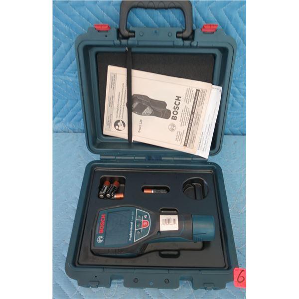 Bosch DTECT120 Wall & Floor Laser Detection Scanner in Hard Case