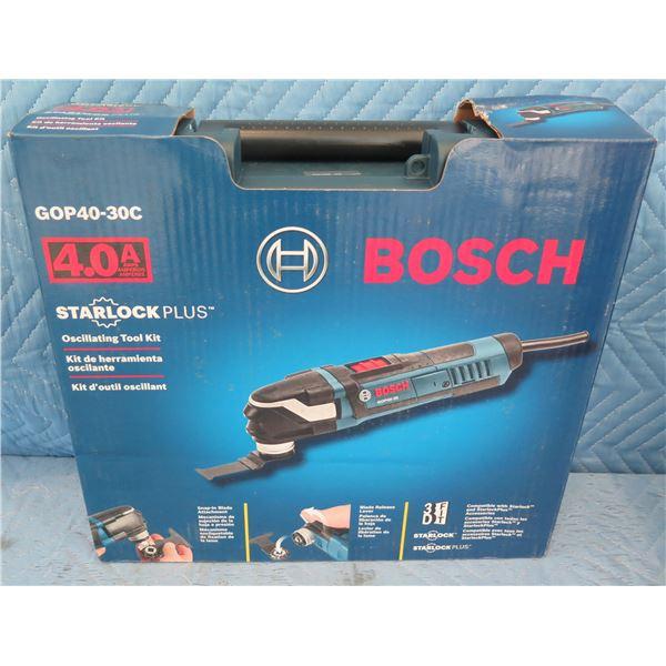 Bosch GOP4030C Oscillating Tool Kit 32 Piece Set  New in Box