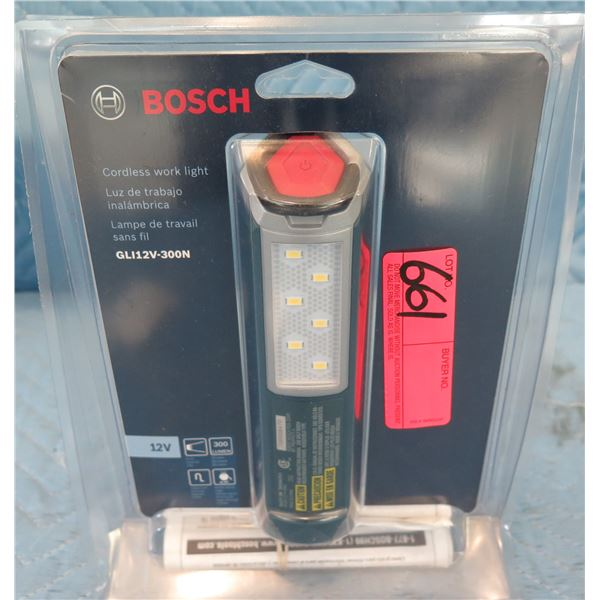 Bosch GLI12V300N Cordless Work Light 12V Max New in Package