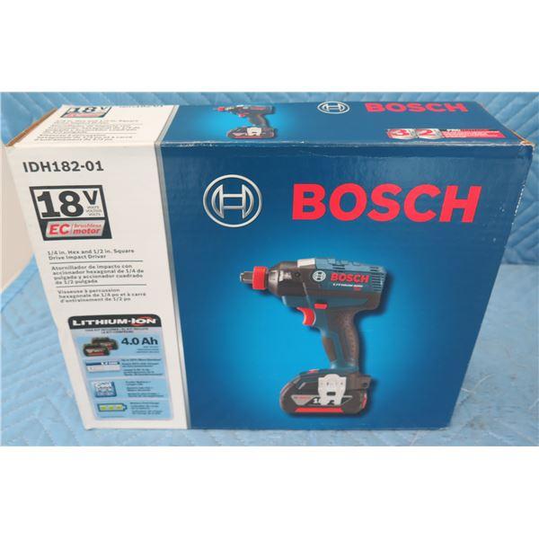 Bosch IDH18201 18V Square Drive Impact Driver  New in Box