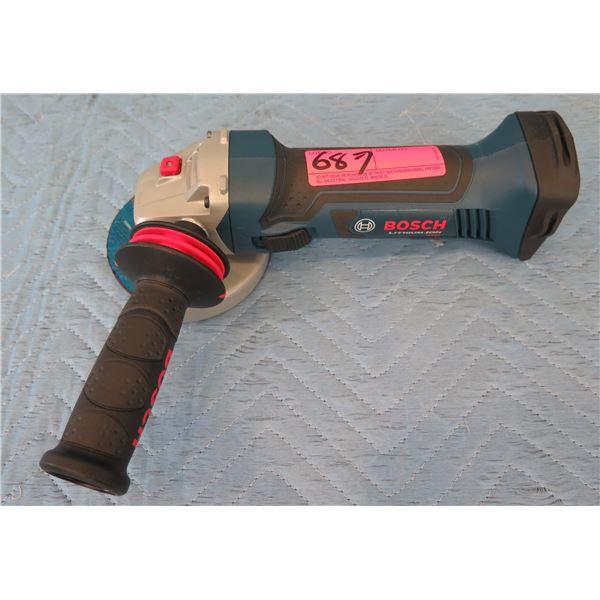 Bosch GWS18V45 Cutoff Angle Grinder 18V (Tool Only)