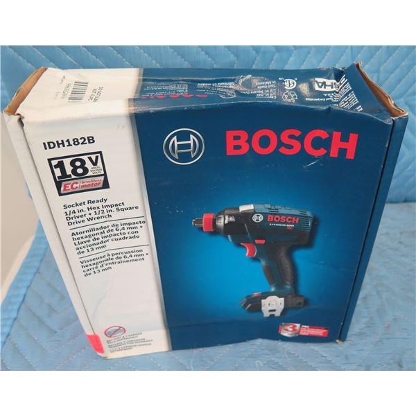 Bosch IDH182B Impact Driver 18V  New in Box