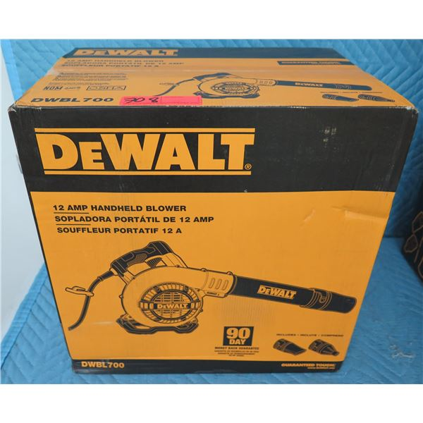 DeWalt DWBL700 Electric Handheld Blower  New in Box