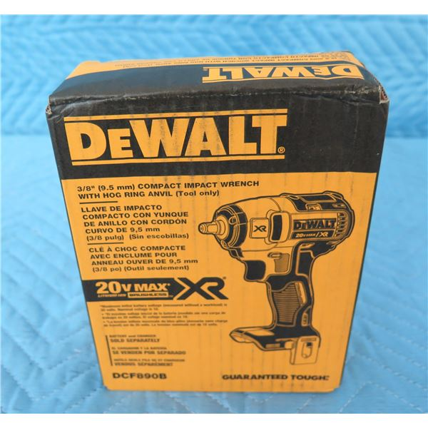 DeWalt DCF890B Impact Wrench (Tool Only)  New in Box