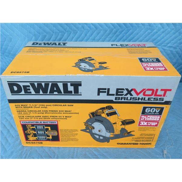 DeWalt DCS575B FlexVolt Circular Saw New in Box