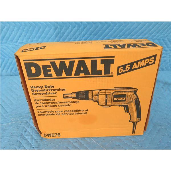 DeWalt DW276 Drywall Screwdriver  New in Box