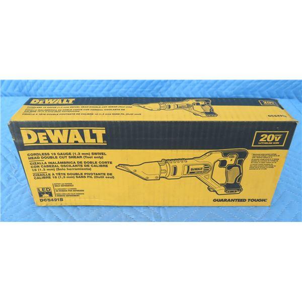 DeWalt DCS491B Cordless Swivel Head Shear  New in Box