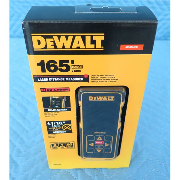 DeWalt DW0165 Laser Measurer 165'  New in Package