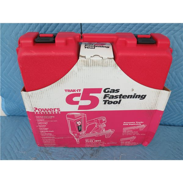 Powers Fasteners T1-CD C5 Trak-It Gas Fastening Tool  New in Box