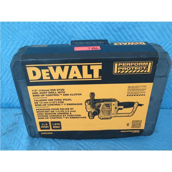 """DeWalt DWD460K Angle Drill 1/2"""" VSR New in Box"""
