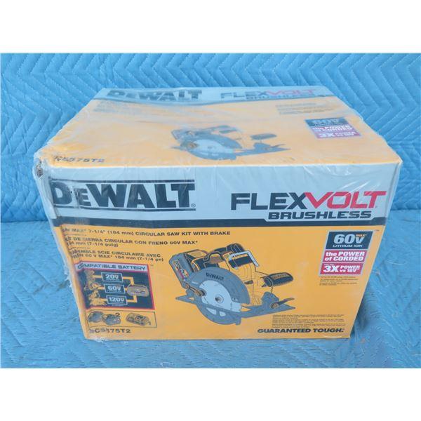 DeWalt DCS575T2 FlexVolt Circular Saw New in Box