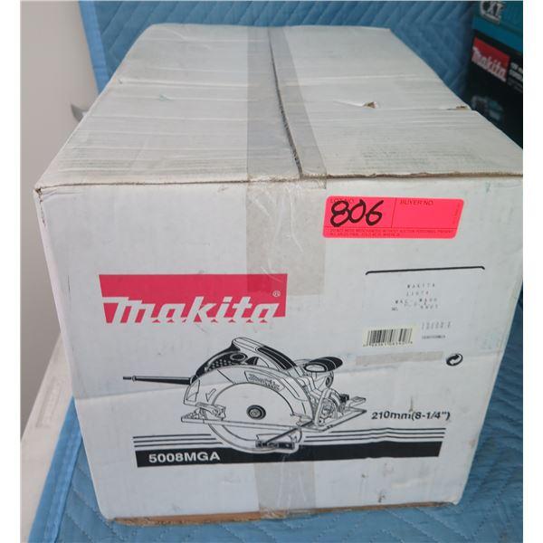 """Makita 5008MGA Circular Saw 8-1/4"""" Mag Electric BL New in Box"""