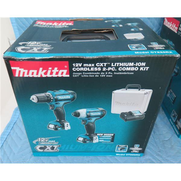 Makita CT226RX Combo Kit 2 Piece FD05Z / DT03Z New in Box
