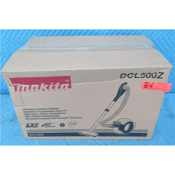 Makita DCL500Z Cordless Cyclone Cleaner Vacuum 18V (Tool Only) New in Box