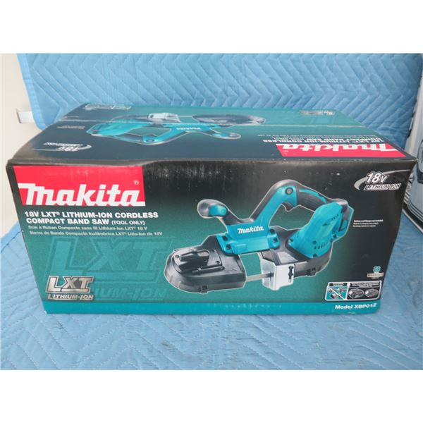 Makita XBP01Z Band Saw 18V (Tool Only) New in Box