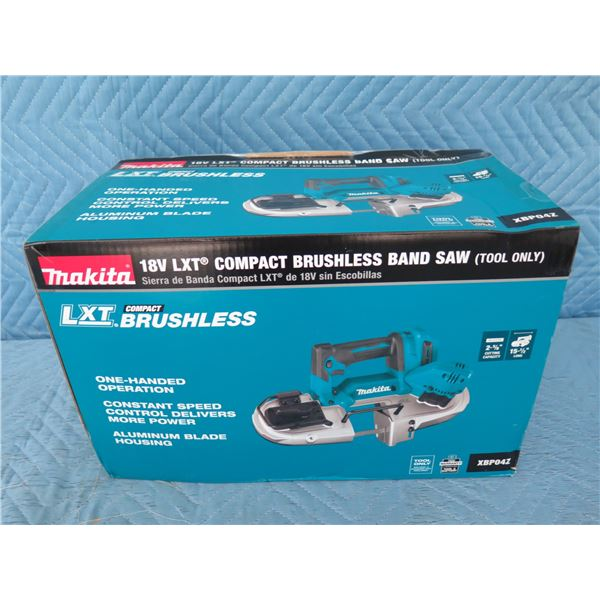 Makita XBP04Z Compact Band Saw 18V (Tool Only) New in Box