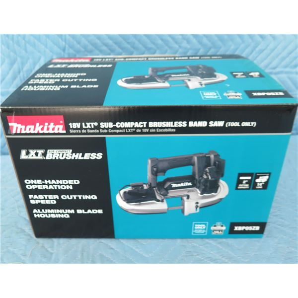 Makita XBP05ZB Sub-Compact Band Saw 18V (Tool Only) New in Box