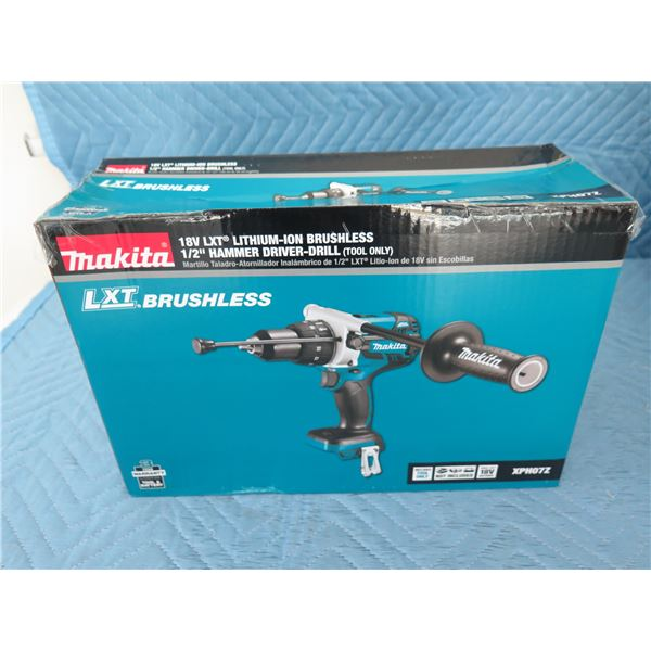 Makita XPH07Z Hammer Drill 18V LXT Brushless (Tool Only) New in Box