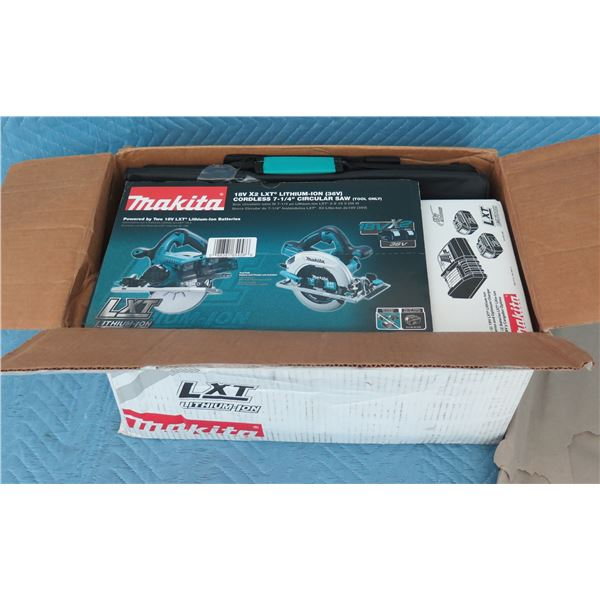 Makita XSH01X Circular Saw Kit 18V 2X New in Box