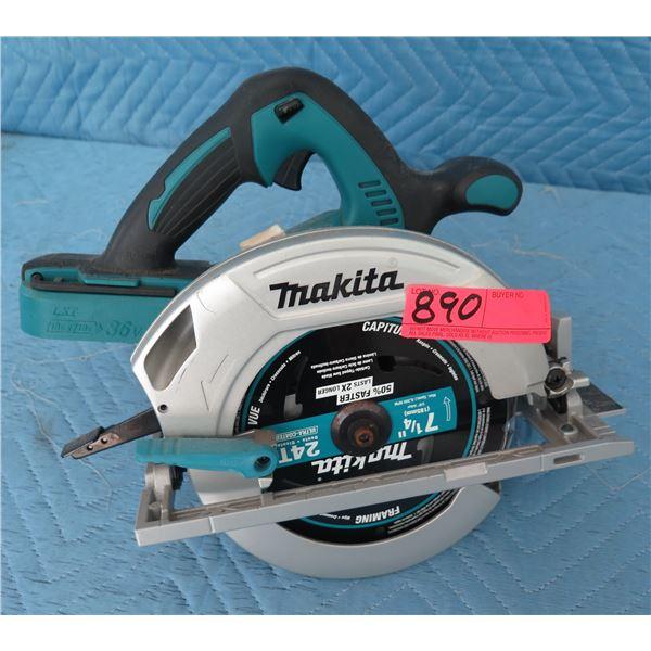 Makita XSH01Z Circular Saw 18V 2X (Tool Only) New