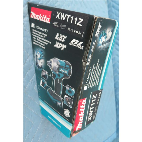 """Makita XWT11Z Impact Wrench 1/2"""" 3 Speed BL (Tool Only) New in Box"""