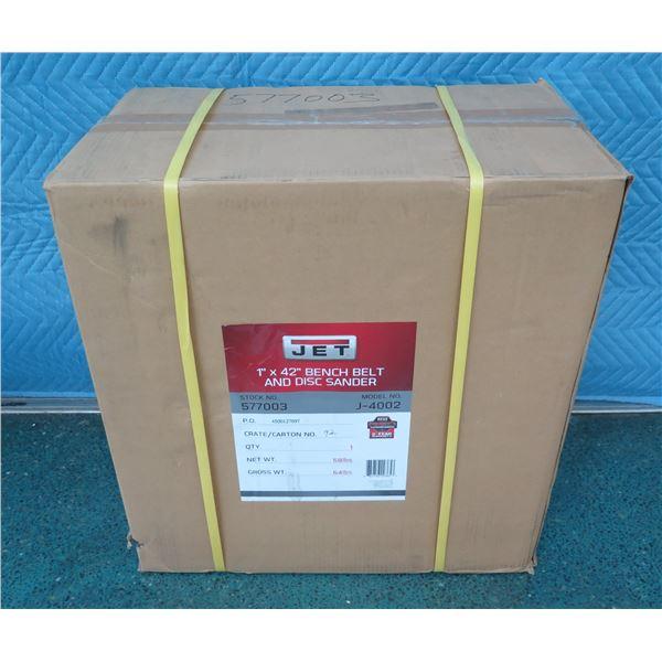JET 577003 Bench Belt & Disc Combination Sander New in Box