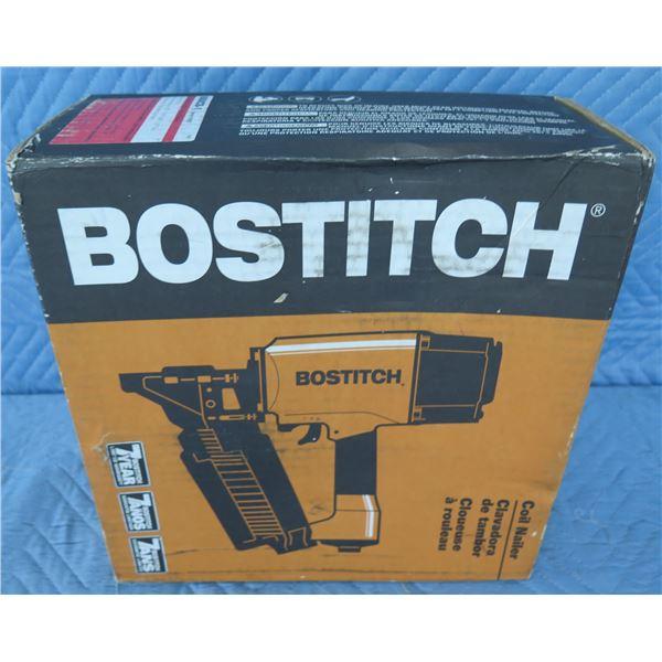 "Bostitch N80C Round Head Nailer 1-1/2""-3-1/4"" Coil New in Box"