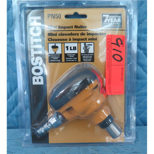Bostitch PN50 Mini Palm Nailer New in Package