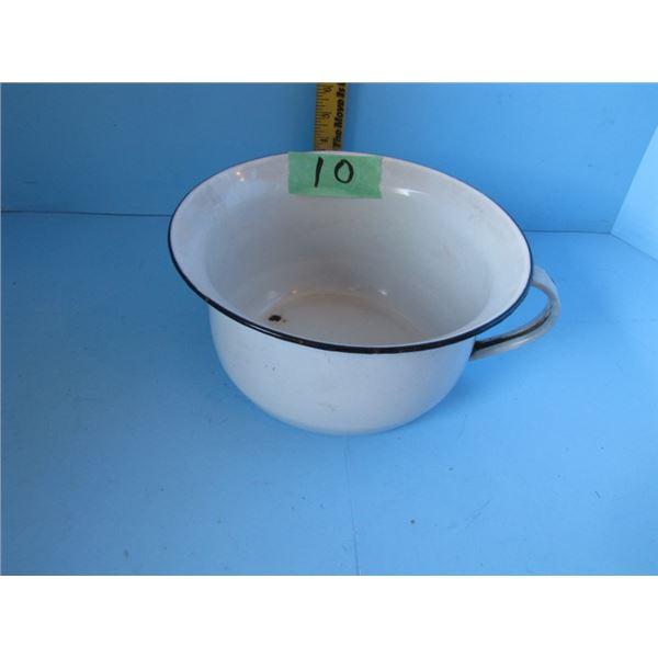 enamel wear Chamber pot
