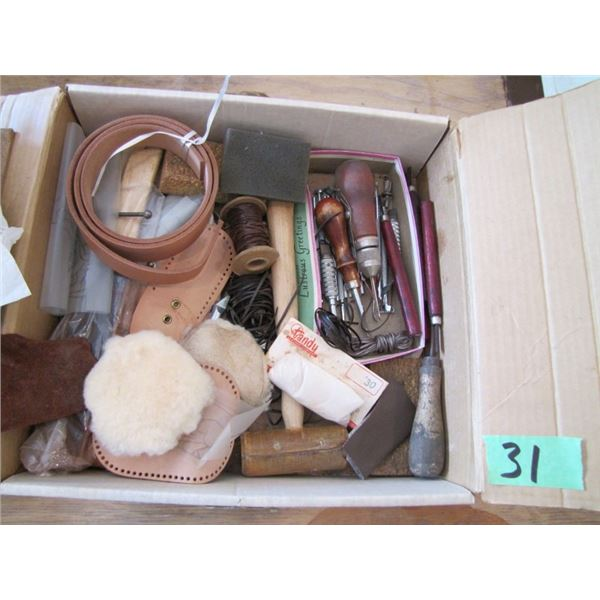 leather working carving kit