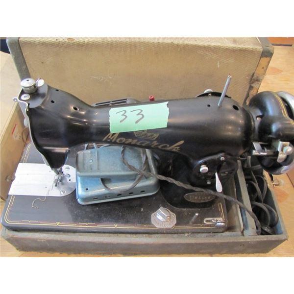 monarch portable sewing machine