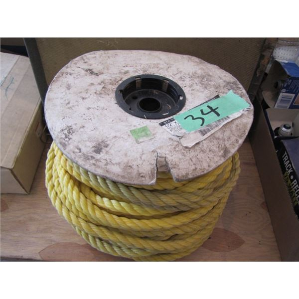 roll of half inch Polly rope