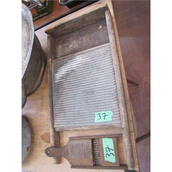 tin washboard