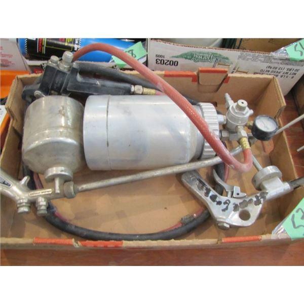 air operated paint sprayer, devilbiss oil spray gun