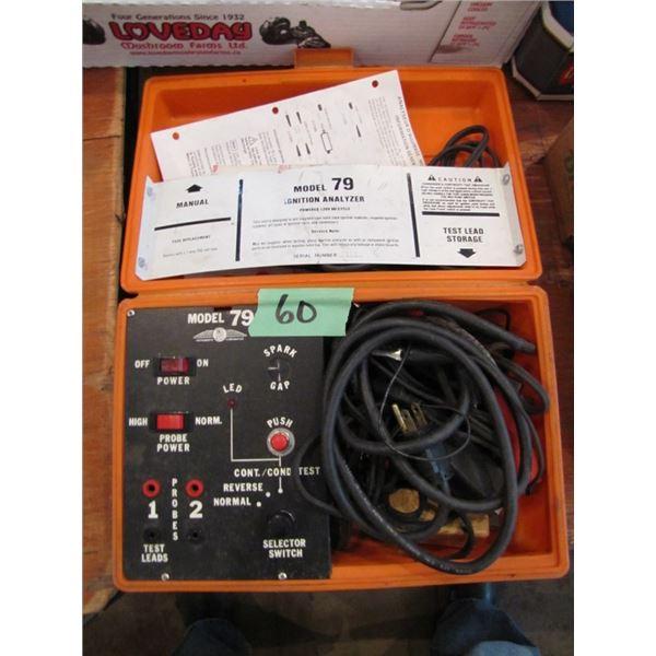 merc tronic model 79 ignition analyzer