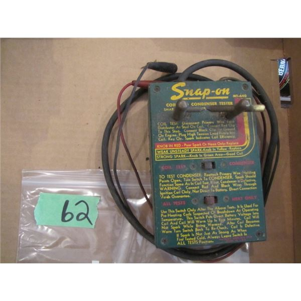 snap on coil and condenser tester