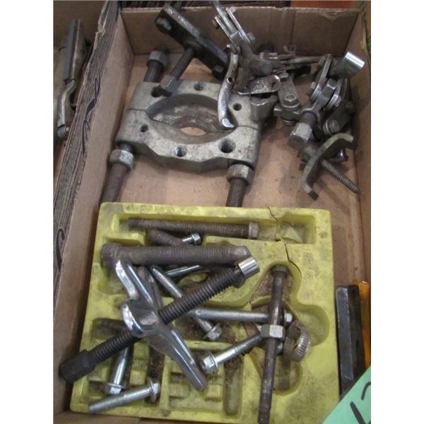 various bearing pullers