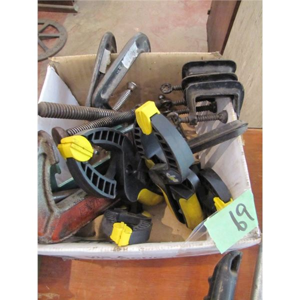 lot of C clamps etc.