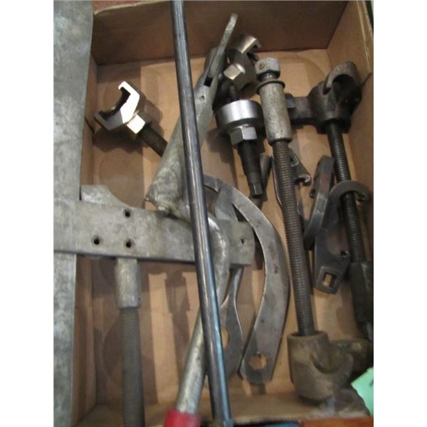 strut compressors and various specialty tools