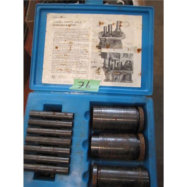 Kent-Moore tool Division J 26935 Trans axle Shim selector
