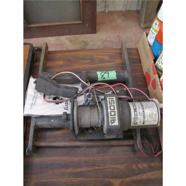 12 volt 1500 pound winch with wired remote