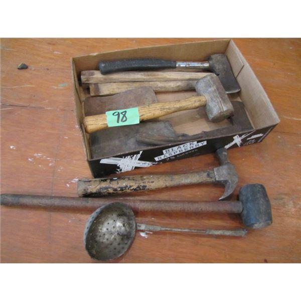 hammers, Hatchet, etcetera