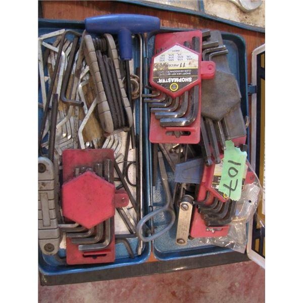 lot of Allen keys