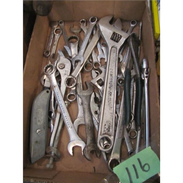 Crescent wrenchs and other wrenches