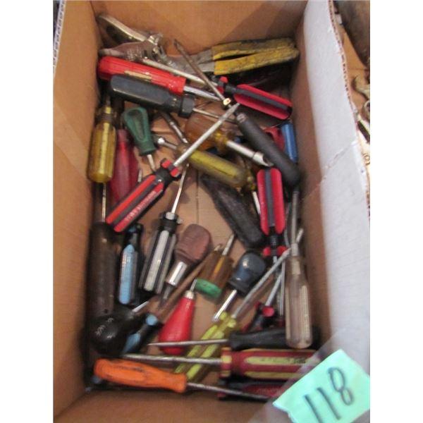 lot of screwdrivers